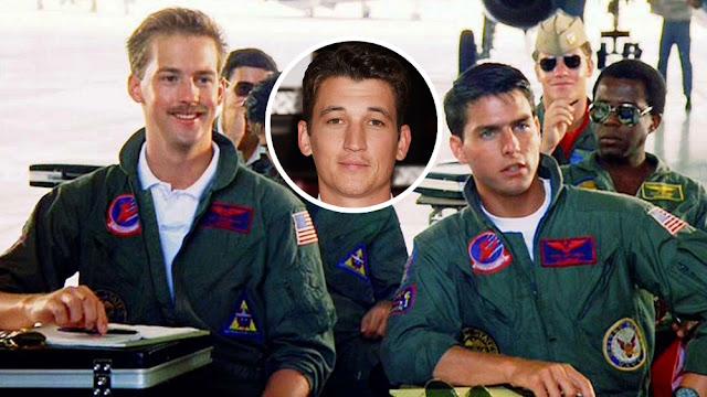 Miles Teller to Play Goose's Son in 'Top Gun: Maverick'