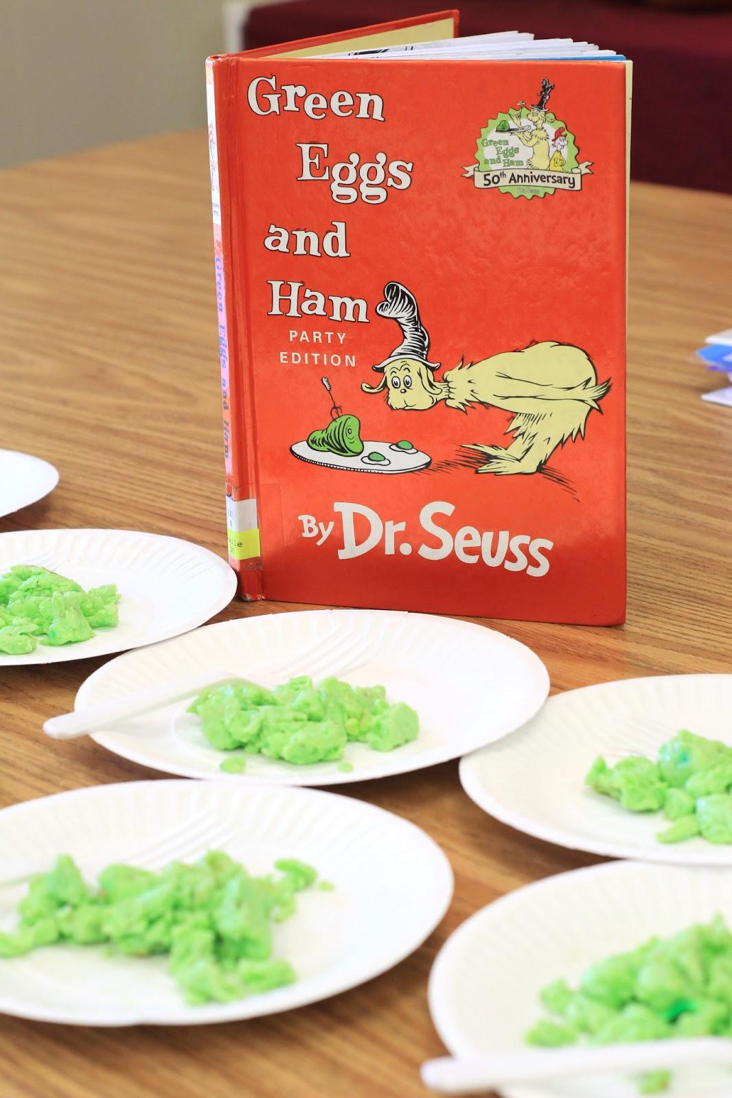 Mrs Ricca S Kindergarten Dr Seuss Week