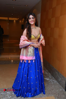 Actress Model Sony Charista Latest Pictures in Lehenga Choli  0083.JPG