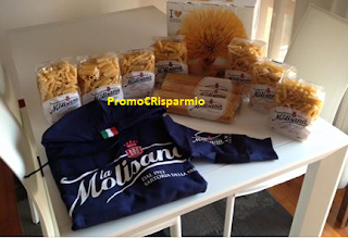 Logo Pasta La Molisana: in consegna 600 kit da 5 kg e 90 Felpe brandizzate