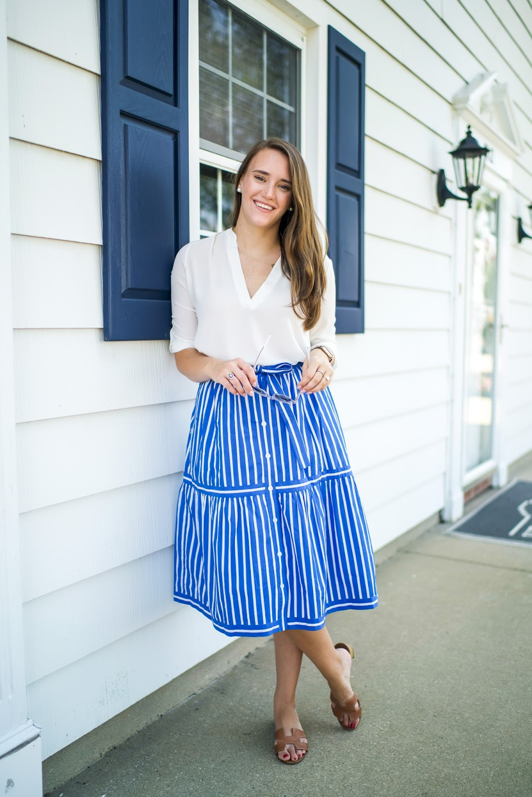 How to long wear high low skirts