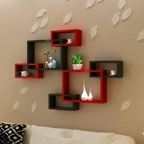 Top 50 Modern House Designs Ever Built: Best 50 Wooden Wall Shelves Design Ideas For Modern Homes 2019