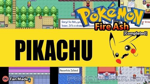 Pokemon Fire Ash