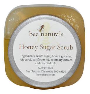 مقشر طبيعي بالعسل من اي هيرب