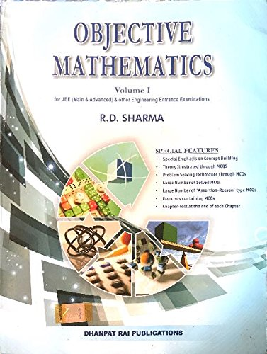 Objective mathematics -RD sharma volume 1&2 Free Pdf download - Jee