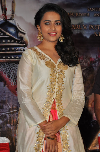 Sri Divya at Kaashmora Telugu Movie Music Launch