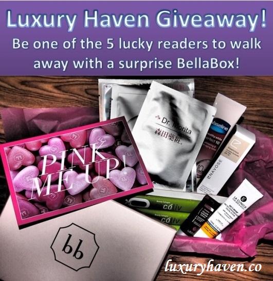 bellabox giveaway beauty boxes