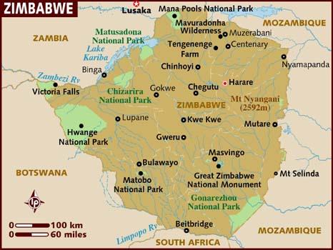 Zimbabwe Facts In Hindi