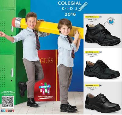 calzado escolar niños 2016