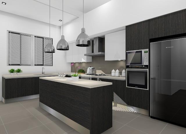Modern Kitchen Design At Saujana Impian Kajang