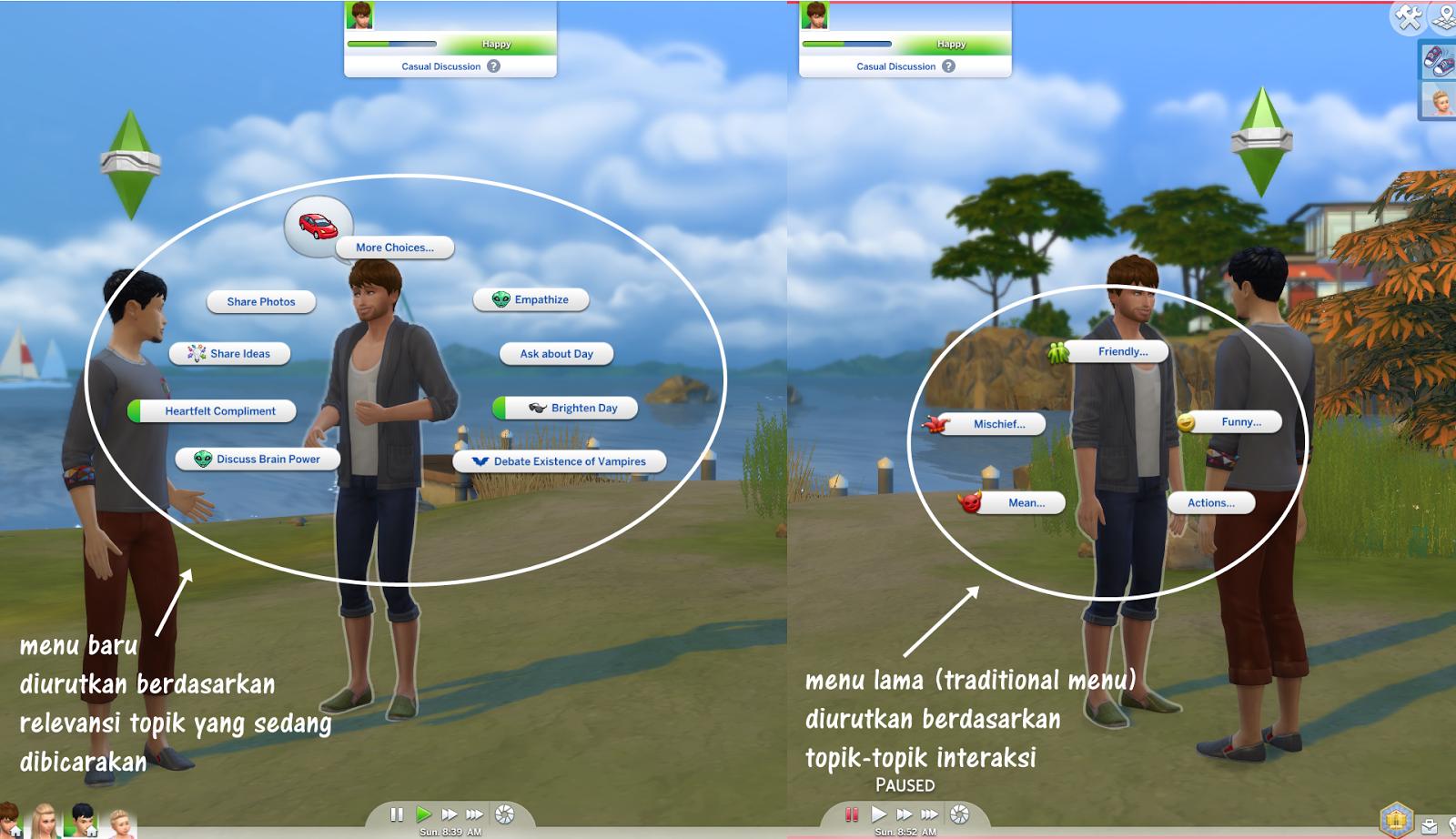 Faq Penjelasan Pengaturan Game Options Di Sims 4