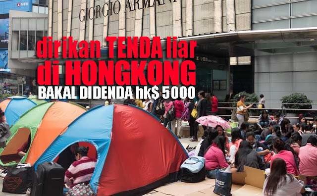 Hati - Hati, Dirikan Tenda Liar Saat Liburan Bisa Didenda HK$ 5000 dan Penjara 3 Bulan Loh