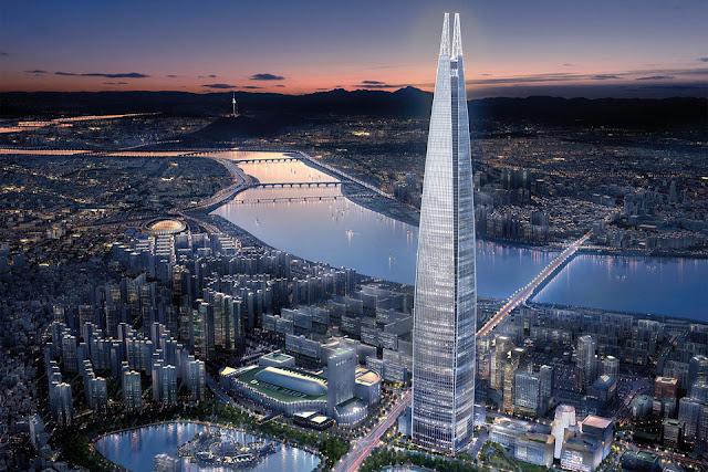 В Сеуле открылся самый высокий отель в мире