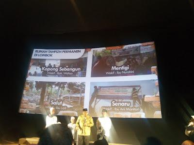 pembangunan rumah tahfizh oleh askar kauny untuk korban bencana alam di lombok, palu dan donggala