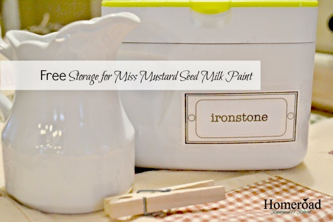 free storage for miss mustard seed milk paint www.homeroad.net