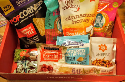 love with food, food subscription box