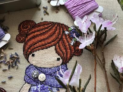 куколка прованс, куколка лаванда, волшебные куколки,magic dolls cross stitch, magic dolls вышивка