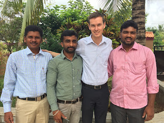 John Mark, Naguraj, myself, and Vivek