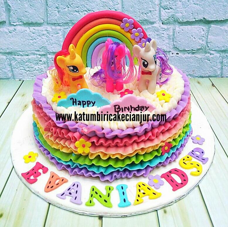 Katumbiri Custom Cake Cianjur Kue Ultah My Little Pony