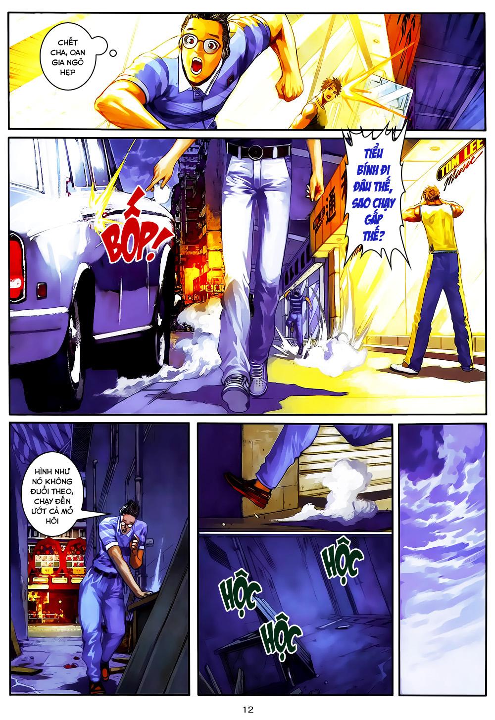 Quyền Đạo chapter 4 trang 12