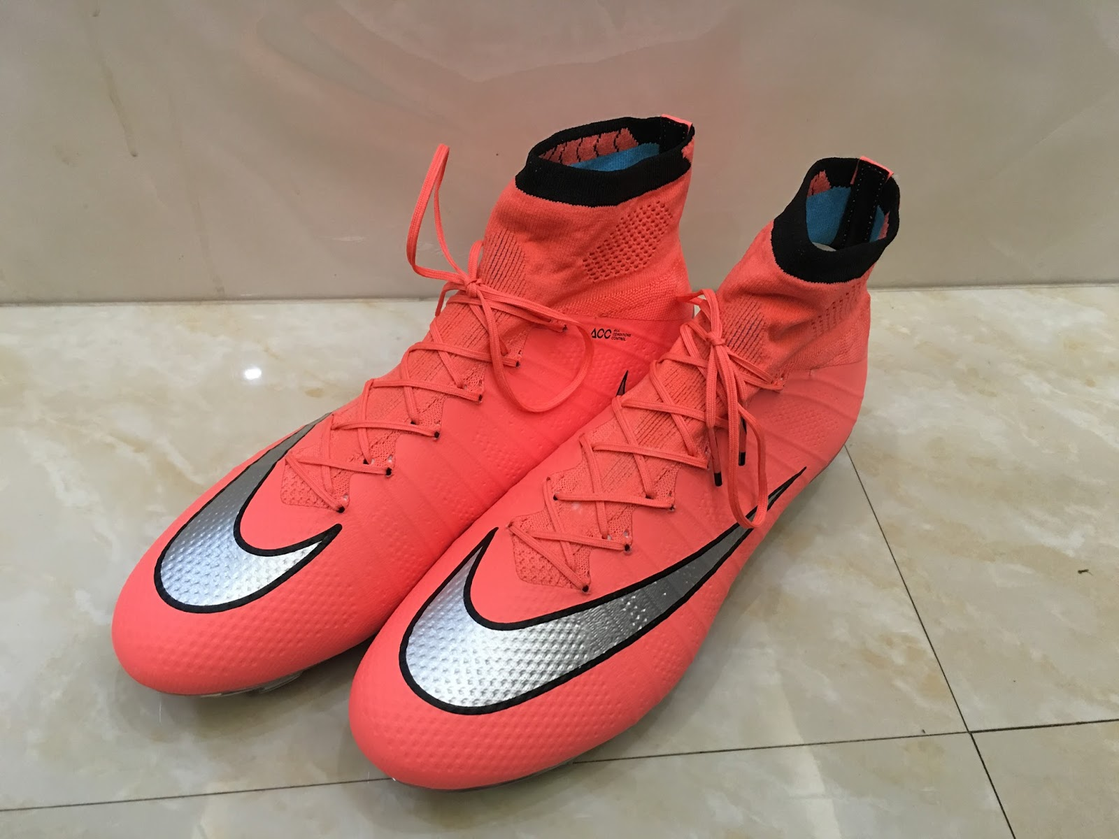 ... Metallic Silver for the Swoosh, the orange Nike Mercurial Superfly 2016  Boots introduce a fresh design for the first Mercurial colorway of the new  year.
