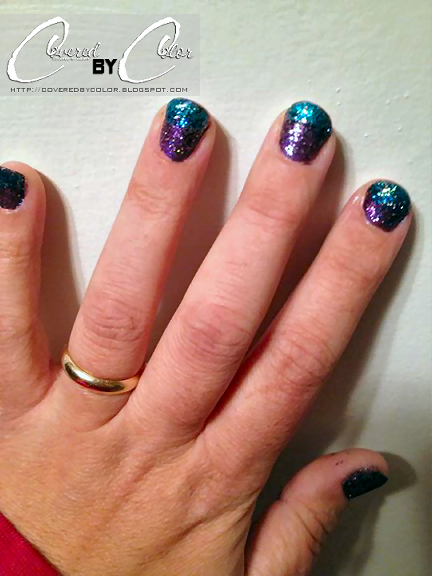 Reader Nail Art Week: Covered By Color: See Me Nekkid!!! ...Well My Nails Anyhow