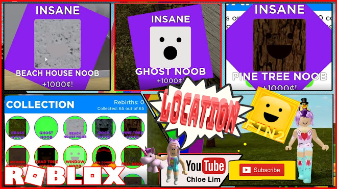 Roblox Find the Noobs 2 Gameplay! Location of all 65 NOOBS
