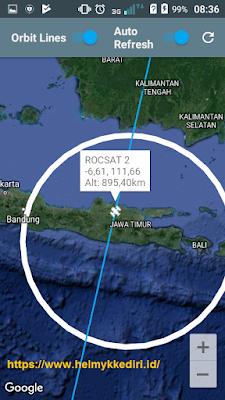 Cara menemukan satelit terdekatc