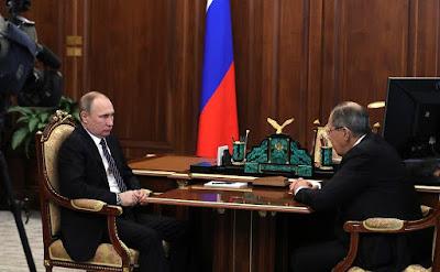 Vladimir Putin, Sergei Lavrov, Kremlin.