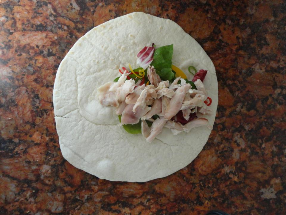 A Chicken Salad Wrap