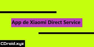 Descargar APK de Direct Service 1.0.0.0 la aplicacion de Xiaomi