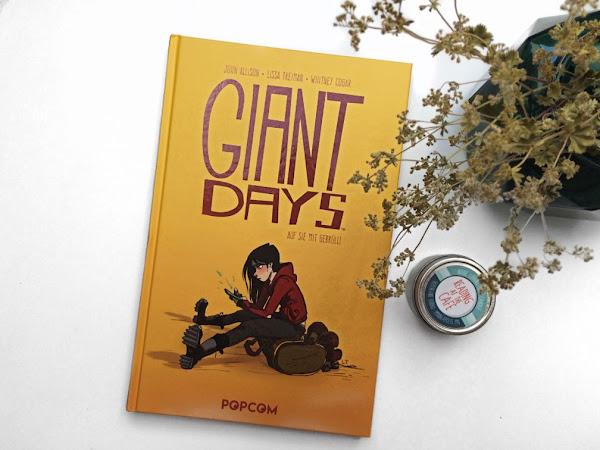 (Kurze) Rezension zu Giant Days von Allison, Treiman und Cogar