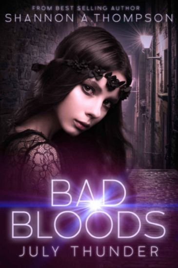 July Thunder, Bad Bloods, Shannon A. Thompson, book review,