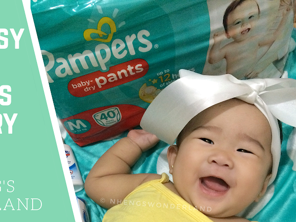 New Easy Palit Pampers Baby Dry Pants