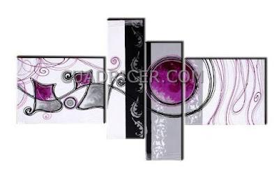http://www.cuadricer.com/cuadros-pintados-a-mano-por-temas/cuadros-abstractos/cuadros-crystal/cuadros-modernos-abstractos-craquelados-morados-violetas-negros-hojas-dormitorios-salones-1614.html
