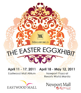 The Easter Celebrity Eggxhibit Of Megaworld Lifestyle Center