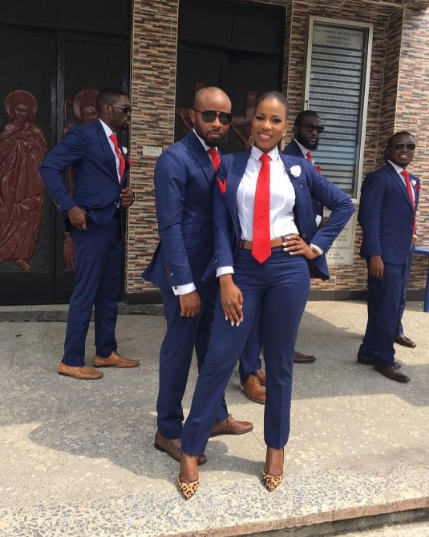 Checkout This Female Groomsman-Donjazzy's female PA