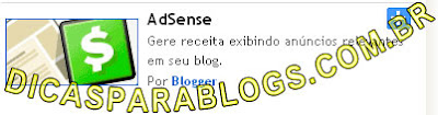 colocar adsense no blogspot
