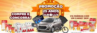 """Promoção: """"25 anos OuroLux"""" Blog topdapromocao.com.br"""