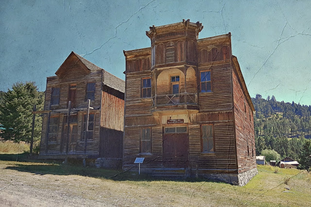 Elkhorn's original saloon and dance hall...
