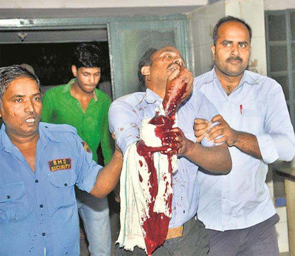 Bomb Blast in Bihar