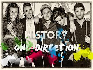 One Direction Lyrics - History