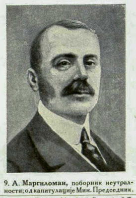 A. Margiloman, Champion for neutrality, was Prime Minister after the Capitulation