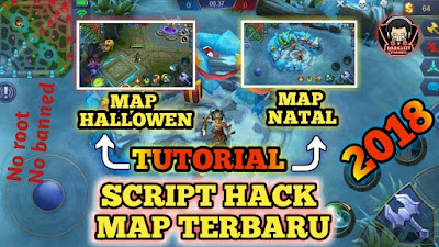 Cara Pasang Script Map Natal dan Halloween di Mobile Legends