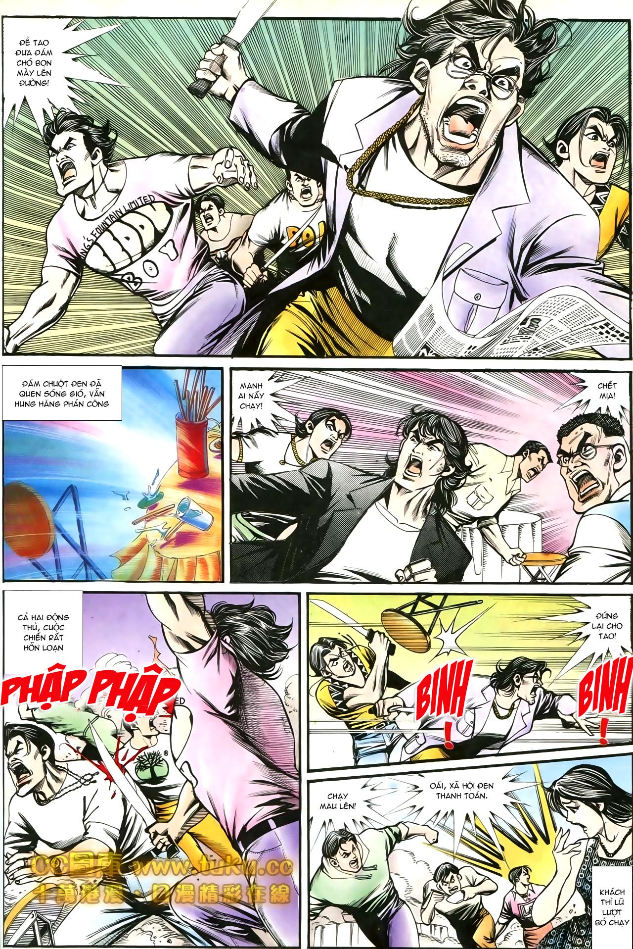 Người Trong Giang Hồ chapter 197: quạ đen báo thù trang 4