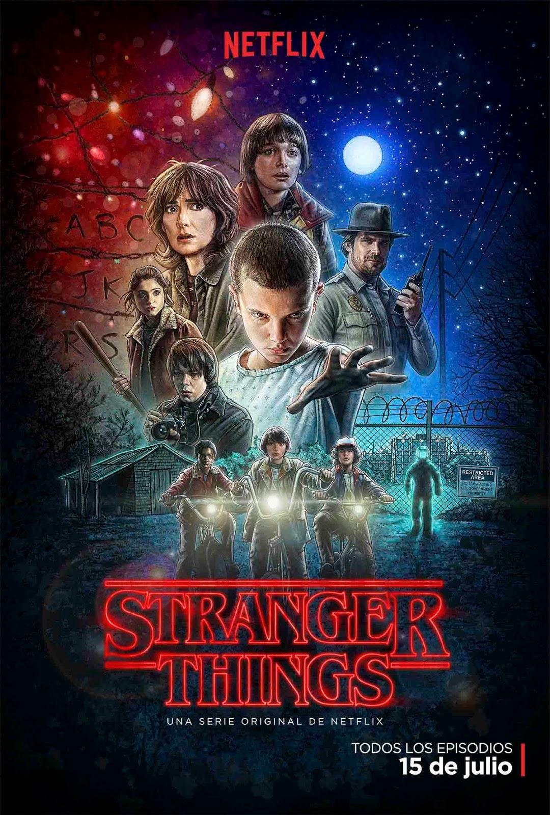 Segundo tráiler y póster oficial de 'Stranger Things'