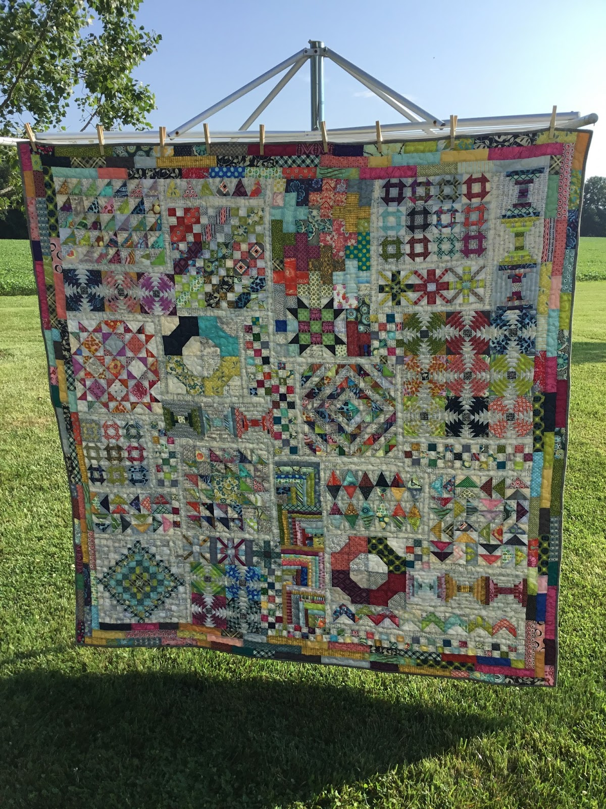 krislovesfabric: Long Time Gone Quilt : A Finish : gone quilting - Adamdwight.com