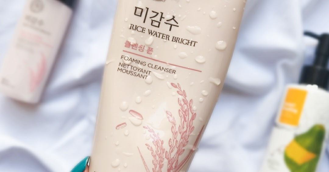 The Face Shop Rice Water Bright Cleansing Foam Review