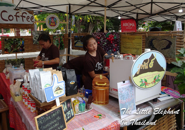 Coffee Market in Nan - Thailand