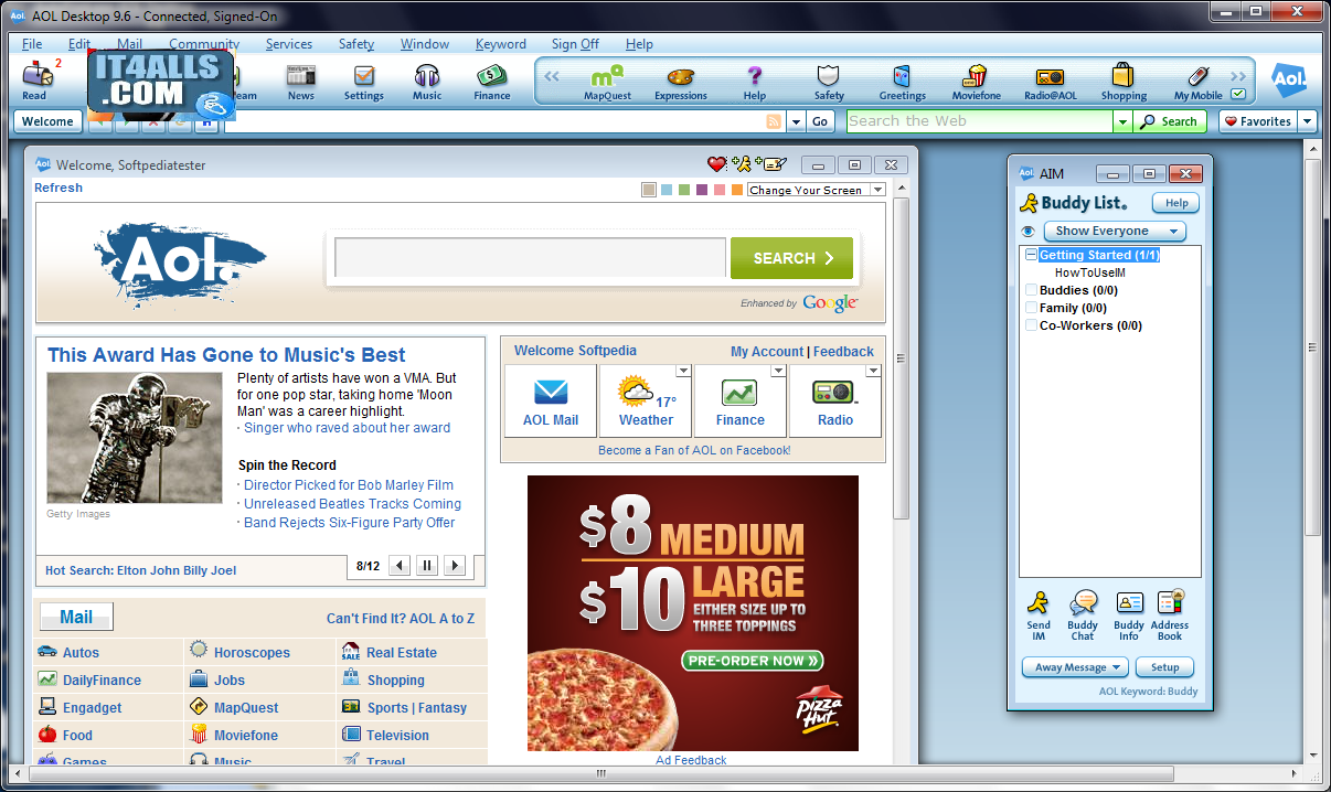 aol desktop 9.6